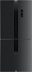 Холодильник Maunfeld MFF181NFSB черный