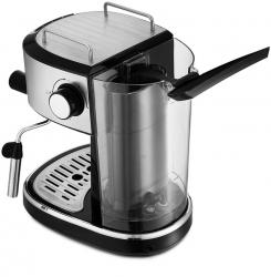 Кофеварка эспрессо Kitfort KT-754 черный/нержавеющая сталь