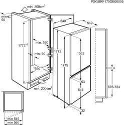 Холодильник Zanussi ZNFR18FS1 белый (двухкамерный)
