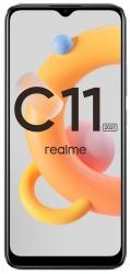 Смартфон Realme C11 2021 32Gb 2Gb серый моноблок 3G 4G 2Sim 6.52
