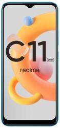 Смартфон Realme C11 2021 32Gb 2Gb синий моноблок 3G 4G 2Sim 6.52