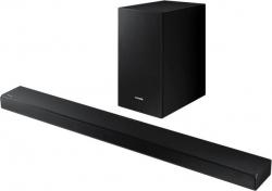 Саундбар Samsung HW-A55C/RU 2.1 180Вт+130Вт черный