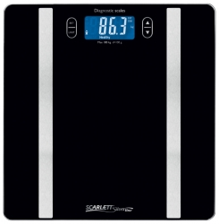 Весы напольные электронные Scarlett SL-BS34ED42 макс.180кг черный