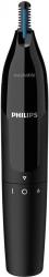 Триммер Philips NT1650/16 черный (насадок в компл:1шт)