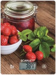 Весы кухонные электронные Scarlett SC-KS57P61 рисунок