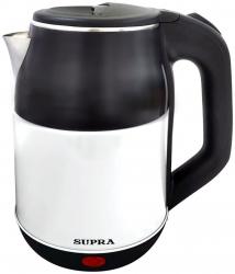 Чайник электрический Supra KES-1843S черный/белый