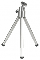 Штатив Hama Mini Ball L настольный серебристый металл (114гр.)