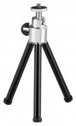 Штатив Hama Mini Ball XL настольный черный/серебристый металл (125гр.)