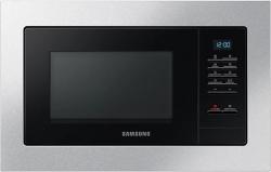 Микроволновая печь Samsung MS20A7013AT/BW 20л. 850Вт нержавеющая сталь/черный (встраиваемая)