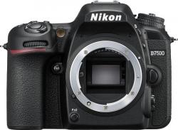 Зеркальный Фотоаппарат Nikon D7500 черный 24.2Mpix 3.15 1080p Full HD SDXC Li-ion