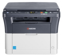 МФУ лазерный Kyocera FS-1020MFP (1102M43RU0/1102M43RUV) серый/белый