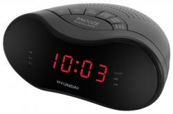 Радиобудильник Hyundai H-RCL160 черный