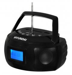 Аудиомагнитола Hyundai H-PAS140 черный