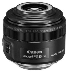 Объектив Canon EF-S IS STM (2220C005) 35мм f/2.8 Macro