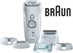 Эпилятор Braun 7-561 WD скор.:2 насад.:5 от аккум. белый/серый