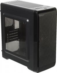 Корпус Accord A-SMB черный без БП ATX 2xUSB2.0 1xUSB3.0 audio bott PSU