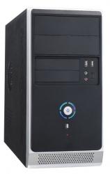 Корпус Accord ACC-B021 черный без БП mATX 1x80mm 1x92mm 2x120mm 2xUSB2.0 audio
