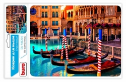 Коврик для мыши Buro BU-M80041 рисунок/Венеция