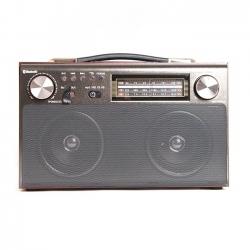 Радиоприемник портативный Сигнал БЗРП РП-322 коричневый