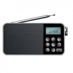 Радиоприемник портативный Сигнал РП-230 черный
