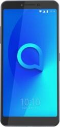 Смартфон Alcatel 5099D 3V 16Gb 2Gb черный моноблок 3G 4G 2Sim 6.0 1080x2160 Android O 12Mpix 802.11bgn BT GPS GSM900/1800 GSM1900 MP3 max128Gb