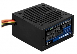 Блок питания Aerocool VX-450 PLUS (24+4+4pin) 120mm fan 2xSATA RTL