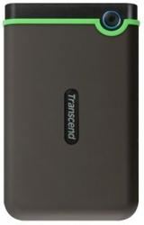 Жесткий диск Transcend USB 3.0 1Tb TS1TSJ25M3S StoreJet 25M3S (5400rpm) 2.5 серый