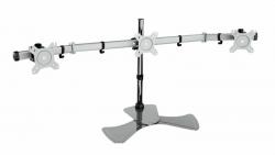 Кронштейн для мониторов Cactus CS-VM-MP330S-AL серебристый 15 -24 макс.8кг настольный наклон