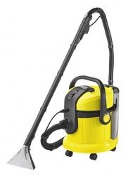 Пылесос моющий Karcher SE4001 желтый/черный