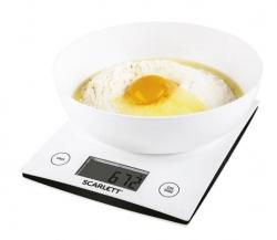 Весы кухонные электронные Scarlett SC-KS57B10 белый