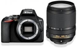 Зеркальный Фотоаппарат Nikon D3500 черный 24.2Mpix 18-140mm f/3.5-5.6 VR 3 1080p Full HD SDXC Li-ion (с объективом)