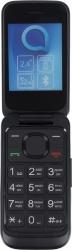 Мобильный телефон Alcatel 2053D OneTouch черный раскладной 2Sim 2.4 240x320 0.3Mpix BT GSM900/1800 GSM1900 MP3 FM microSD max21Gb