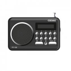 Радиоприемник портативный Сигнал РП-108 черный