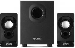 Колонки Sven MS-85 2.1 черный 10Вт