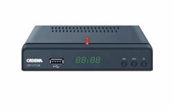 Ресивер DVB-T2 Cadena CDT-1711SB черный