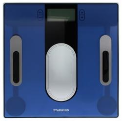 Весы напольные электронные Starwind SSP6050 синий