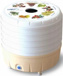 Сушка для фруктов и овощей Ротор Алтай СШ-022 5под.  белый