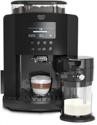 Кофемашина Krups Arabica Latte EA819N10 черный