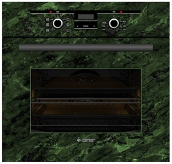 Духовой шкаф Электрический Gefest ЭДВ ДА 622-02 К59 зеленый/рисунок