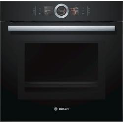 Духовой шкаф Электрический Bosch HMG656RB1 черный