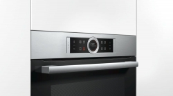 Духовой шкаф Электрический Bosch CBG633NS3 нержавеющая сталь/черный