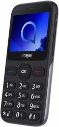 Мобильный телефон Alcatel 2019G серебристый моноблок 2.4 240x320 2Mpix GSM900/1800 GSM1900 max32Gb