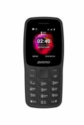 Мобильный телефон Digma C170 Linx черный моноблок 2Sim 1.77 128x160 0.08Mpix GSM900/1800 MP3 microSD max32Gb