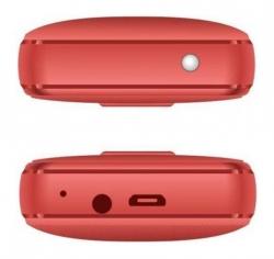 Мобильный телефон Philips E109 Xenium красный моноблок 2Sim 1.77 128x160 GSM900/1800 MP3 FM microSD max16Gb