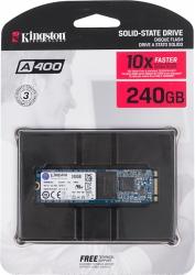 Накопитель SSD Kingston 240Gb SA400M8/240G A400 M.2
