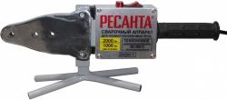 Сварочный аппарат для пластиковых труб Ресанта АСПТ-2000 раструбная 2000кВт (кейс в комплекте)