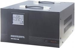 Стабилизатор напряжения Ресанта АСН-8000/1-ЭМ электронный однофазный черный