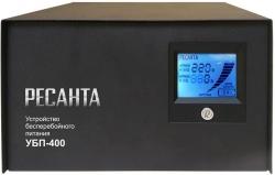 Стабилизатор напряжения Ресанта УБП-400 электронный однофазный черный