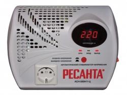 Стабилизатор напряжения Ресанта АСН-500 Н/1-Ц электронный однофазный серый