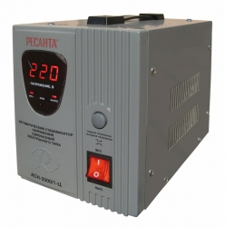 Стабилизатор напряжения Ресанта АСН-2000/1-Ц электронный однофазный серый